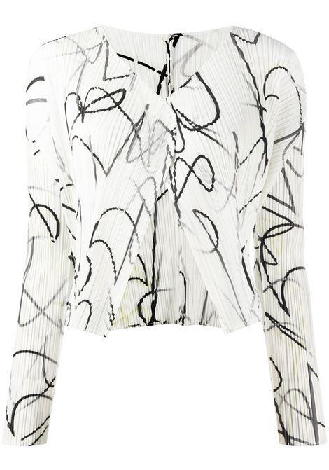 Cardigan plissettato PLEATS PLEASE | Cardigan | PP08JO66201