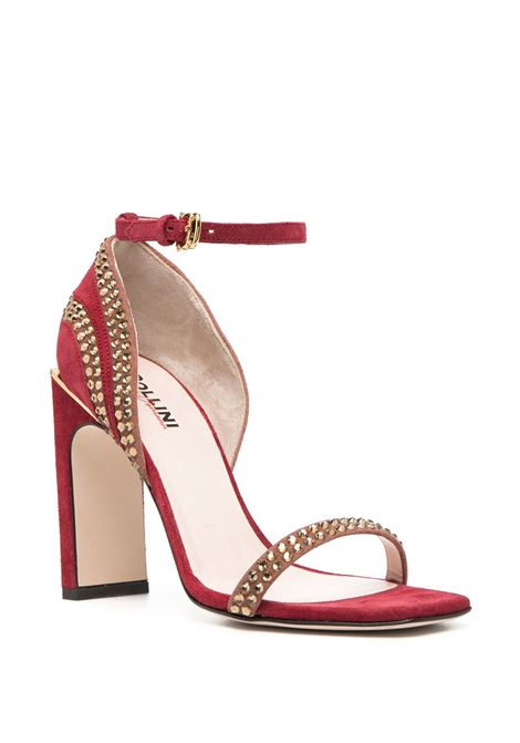 Sandali in pelle scamosciata POLLINI   Scarpe   PA1699AC0BP1250A