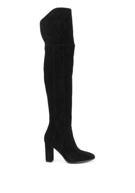 Stivali in pelle scamosciata POLLINI | Scarpe | SA26128C1BTQ0000
