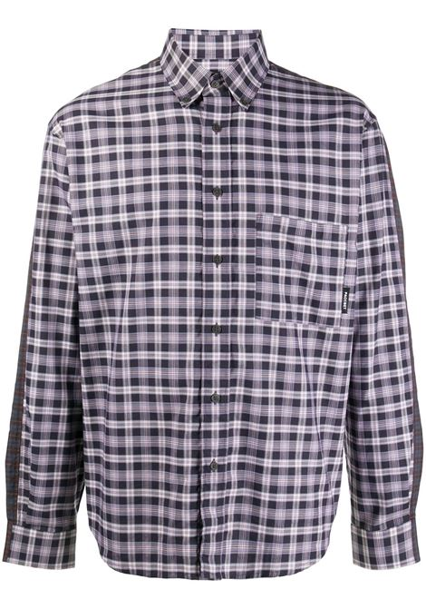 Camicia maniche lunghe con stampe tartan RASSVET | Camicia | PACC7B0011