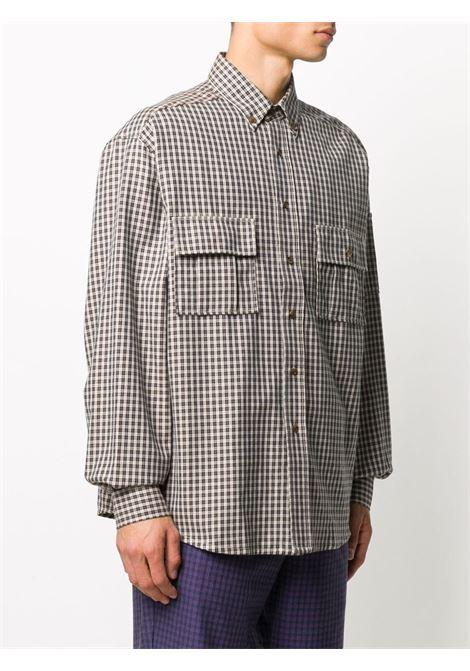 Camicia con stampa tartan RASSVET | Camicia | PACC7B0023