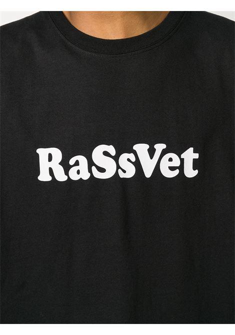 T-shirt con stampa logo RASSVET | T-shirt | PACC7T0081