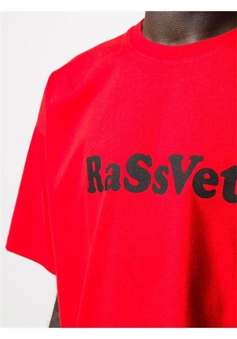T-shirt con stampa logo RASSVET | T-shirt | PACC7T0083