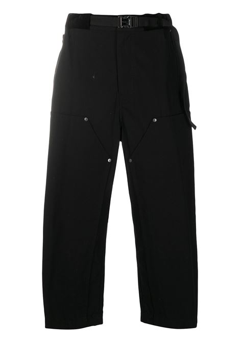Pantaloni crop taglio straight SACAI | Pantalone | 20-02325M001