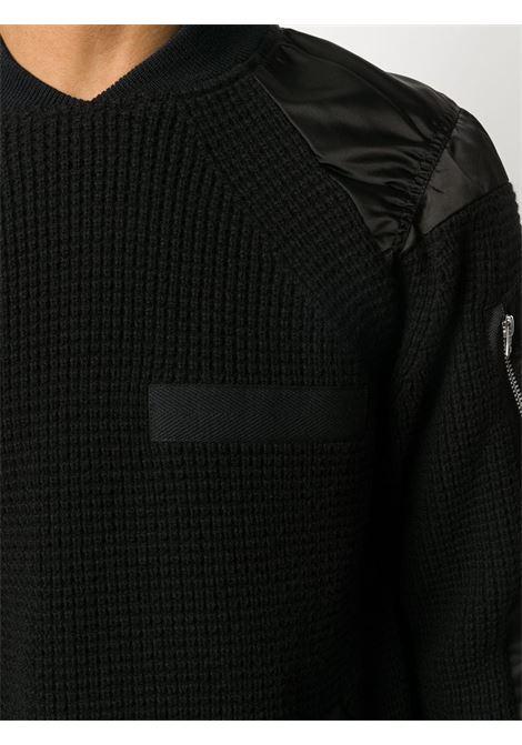 Maglione con design a pannelli SACAI | Maglia | 20-02359M001