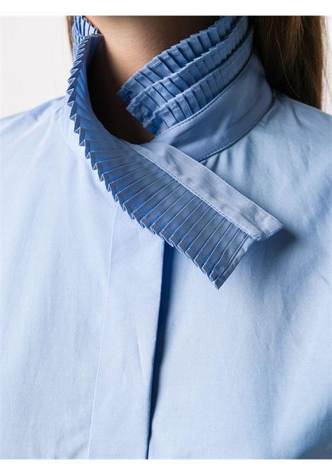 Camicia con ruches plissettate. SPORTMAX | Camicia | ORSI004