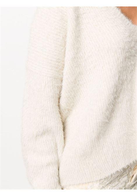 Maglione con scollo a V UMA WANG | Maglia | UK7142UW101