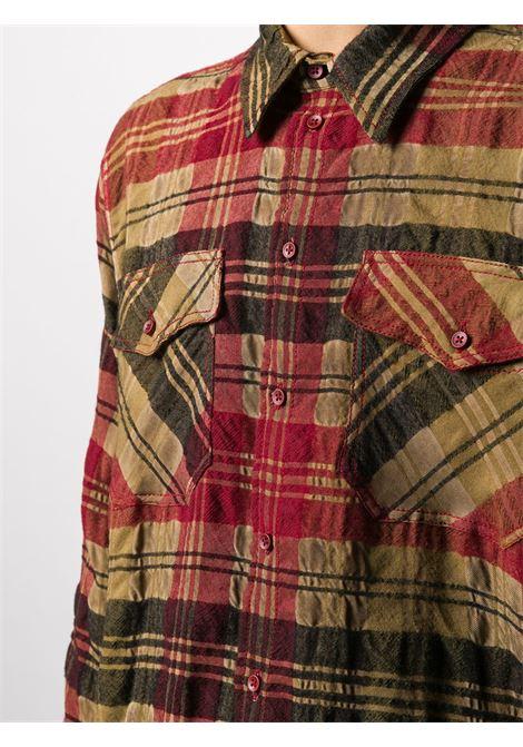 Camicia a quadri UMA WANG | Camicia | UM1516UW279