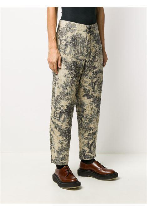 Pantaloni fantasia UMA WANG | Pantalone | UM3513UW029