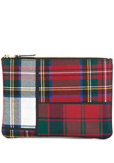 Portafoglio con motivo tartan WALLETS | Portafogli | SA5100TP1