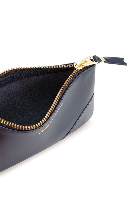 Portafoglio in pelle con zip WALLETS COMME DES GARCONS | Portafogli | SA81004..