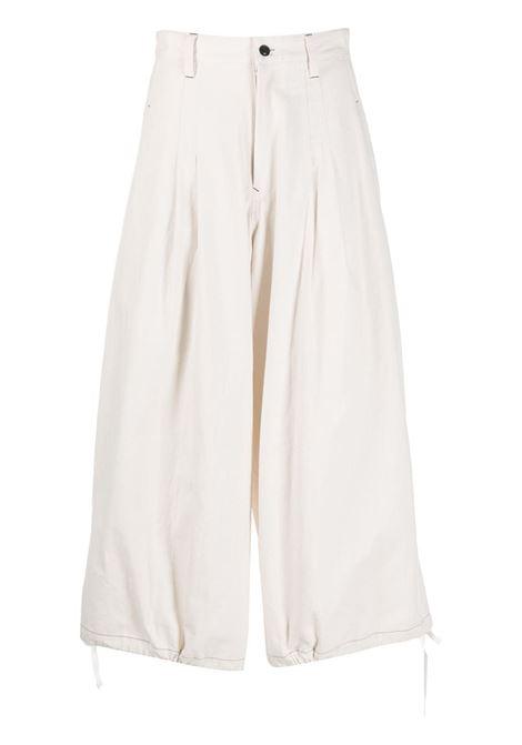 Pantaloni crop a gamba ampia Y's | Pantalone | YR-P02-0091