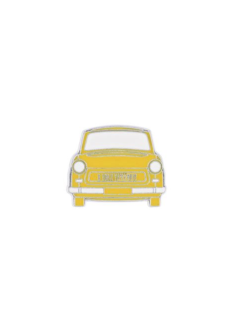 Spilla a forma di macchina con logo YOHJI YAMAMOTO + NOIR | Spilla | NR-A53-9761