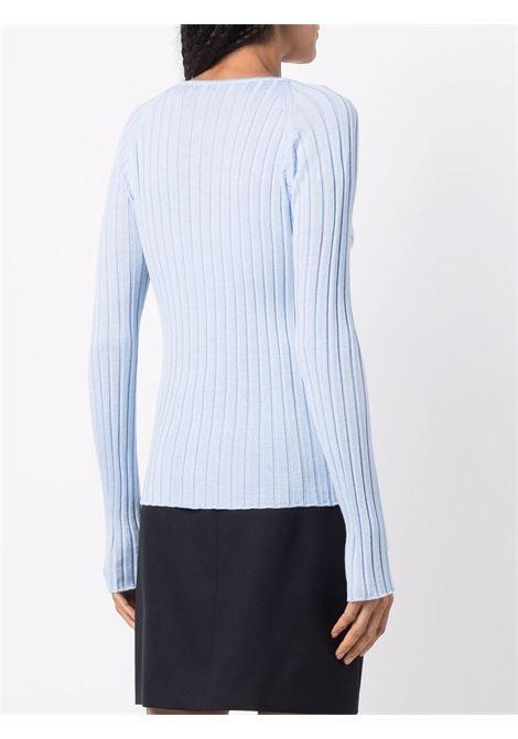 maglia scollata con piercing Act n.1 | Maglia | PFK210302