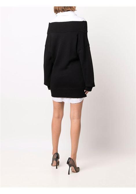 abito corto con camicia e maglia Act n.1 | Abito | PFK211203