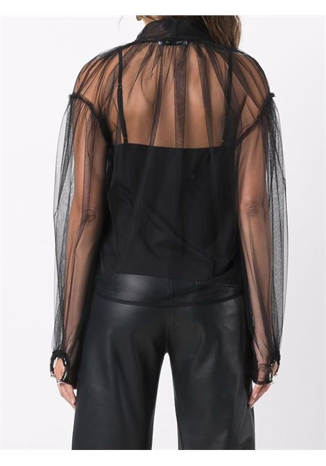 camicia in tulle con fiocco Act n.1 | Top | PFT210903