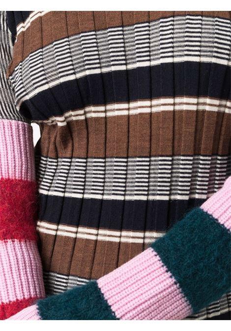 maglia collo alto a righe COLVILLE | Maglia | CVF21646KHAK
