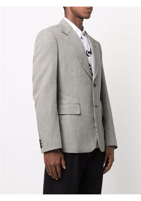giacca due bottoni in pied de poulle COMME DES GARCONS Homme Plus | Giacca | PH-J0301