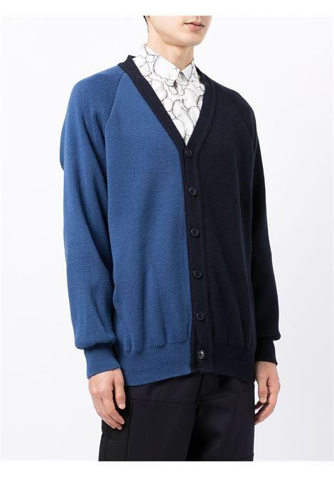 cardigan bicolore COMME DES GARCONS SHIRT | Cardigan | FH-N5011