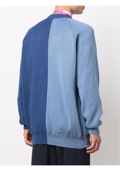 cardigan bicolore COMME DES GARCONS SHIRT | Cardigan | FH-N5012