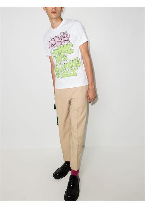 t-shirt manica corta con stampa KAWS COMME DES GARCONS SHIRT | T-shirt | FH-T0041