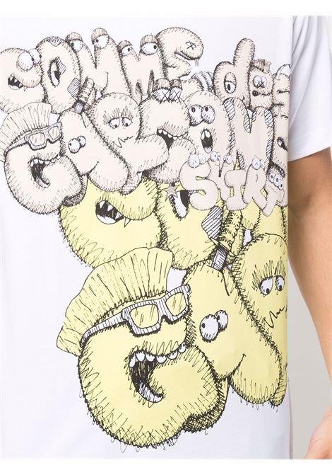 t-shirt manica corta con stampa KAWS COMME DES GARCONS SHIRT | T-shirt | FH-T0051