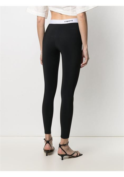 leggins con elastico logato COPERNI   Leggings   COPJS02525BLACK