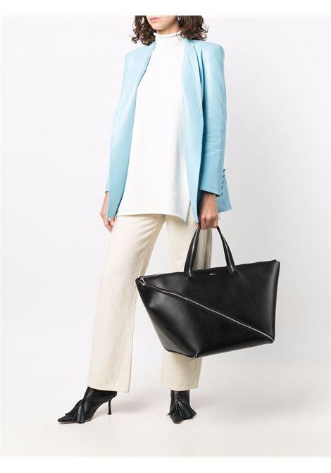 shopper bag  grande con zip COPERNI | Borsa | COPP21BA21445BLACK