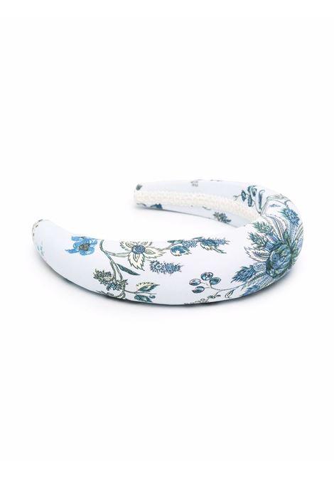 cerchietto con fantasia floreale ERDEM | Cerchietto | 1412HVMCSKY/BLUE
