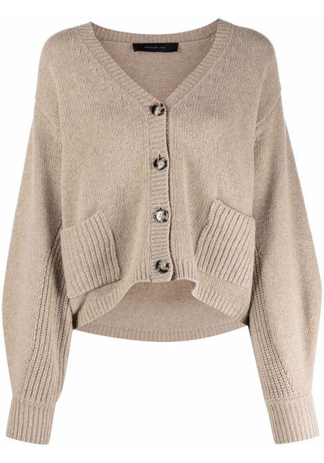 cardigan corto oversize FEDERICA TOSI | Maglia | FTI21MK011.0FTAI210499