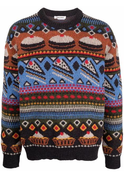 maglione girocollo jaquard HENRIK VIBSKOV | Maglia | M707739/591