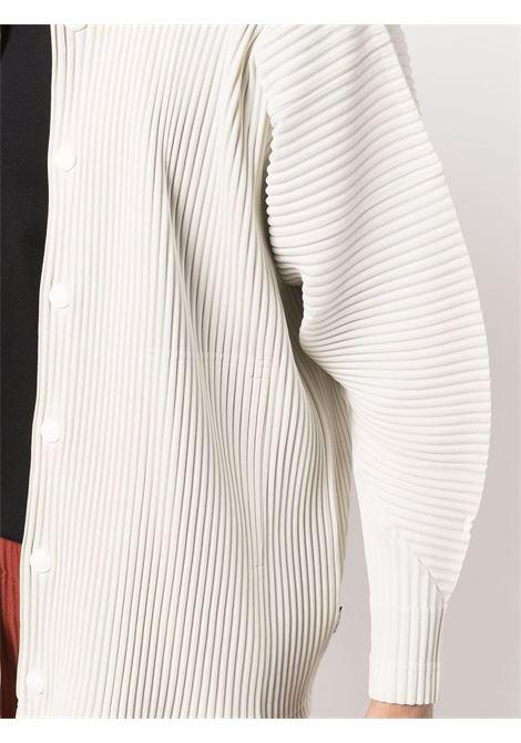 giubbotto plissé  con bottoni automatici HOMME PLISSE | Giubbotto | HP18JC11103