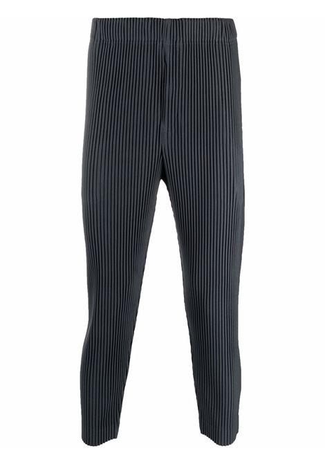 pantalone in tessuto plissé HOMME PLISSE | Pantalone | HP18JF10814