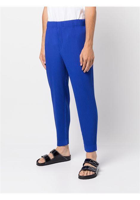 pantalone in tessuto plissé HOMME PLISSE | Pantalone | HP18JF10871