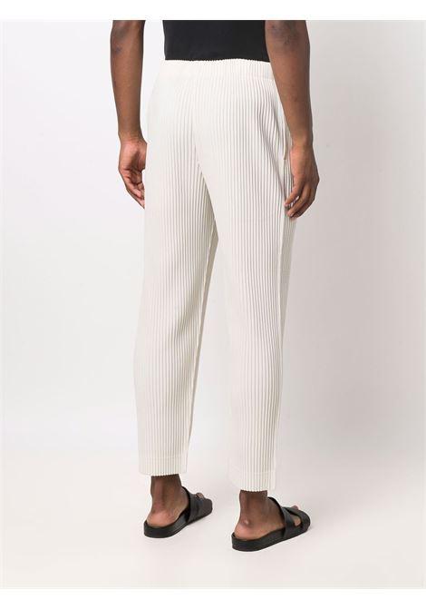pantalone in tessuto plissé HOMME PLISSE | Pantalone | HP18JF11303