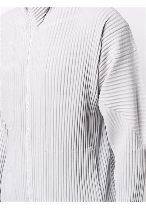 felpa con zip plissé HOMME PLISSE | Giubbotto | HP18JL14011