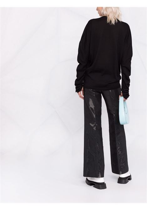 maglia girocollo con manica reglan ISSEY MIYAKE | Top | IM18KN25815