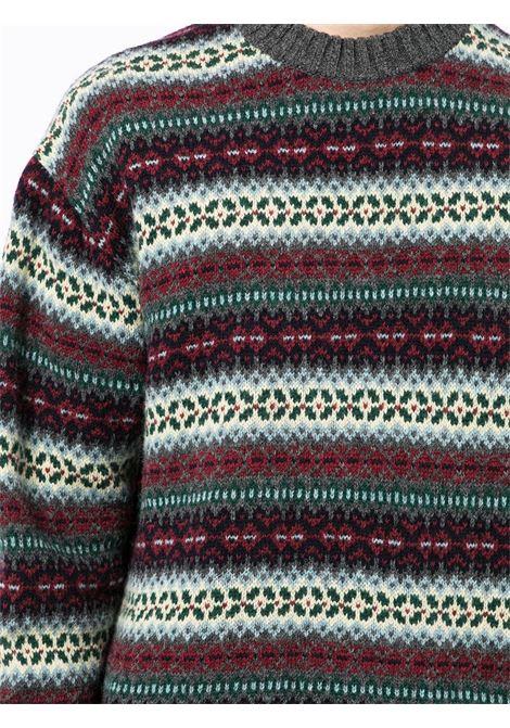 maglione oversize jaquard JUNYA WATANABE MAN | Maglia | WH-N0121