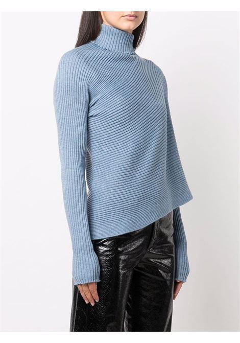 maglia a coste asimmetrica MARQUES ALMEIDA | Maglia | KN0005MKNLIGHT BLUE