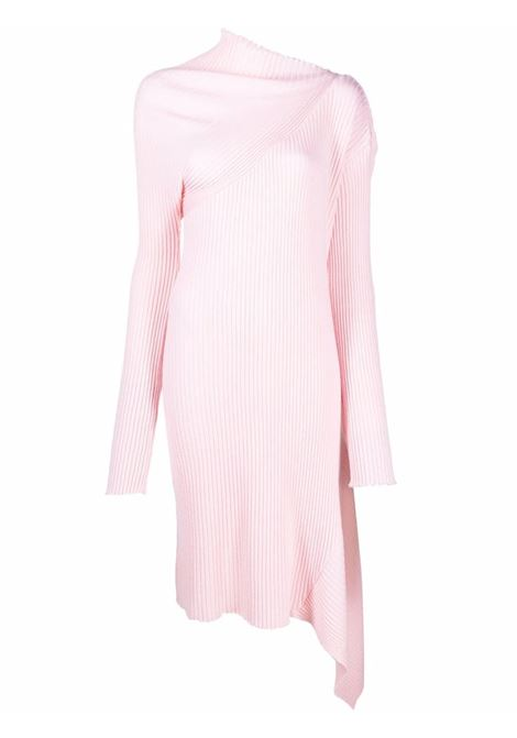abito asimmetrico  in maglia