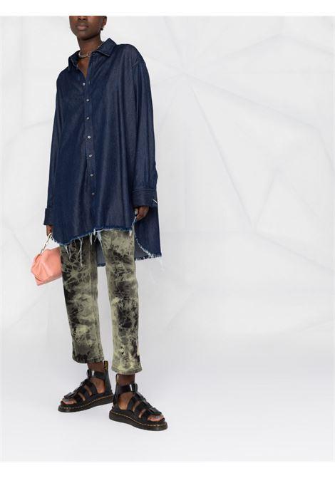 camicia  abito oversize MARQUES ALMEIDA | Camicia | TP0250DNCBLUE