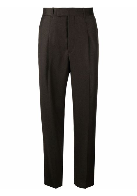 pantalone vita alta con pences PAUL SMITH | Pantalone | M1R-632U-G0010963