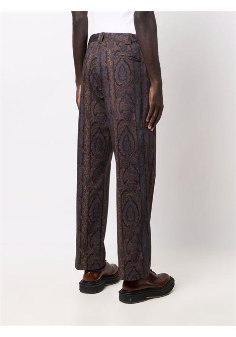 pantalone con fantasia PAUL SMITH | Pantalone | M1R-999U-G0150279