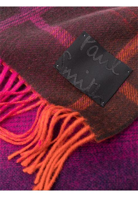 sciarpa a quadri con frange PAUL SMITH | Sciarpa | W1A-967F-GS0620