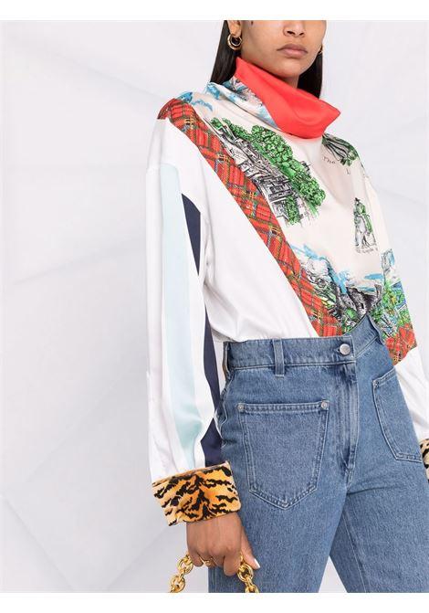 camicia con collo alto PHILOSOPHY di LORENZO SERAFINI | Camicia | A021057181888