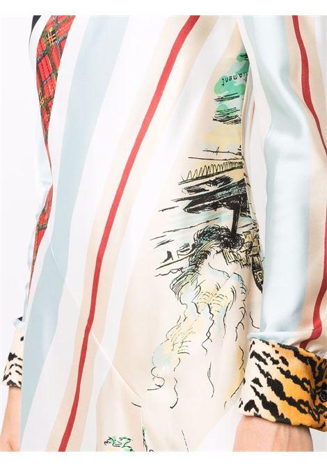 abito lungo girocollo manica lunga PHILOSOPHY di LORENZO SERAFINI | Abito | A042957181888