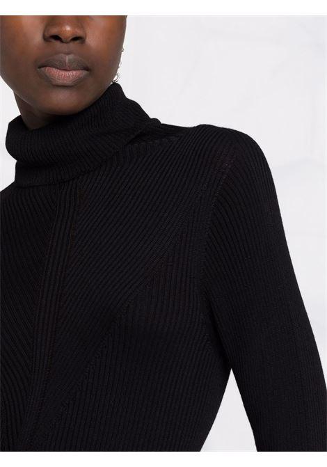 abito collo alto in maglia a costine PHILOSOPHY di LORENZO SERAFINI | Abito | A04805701555