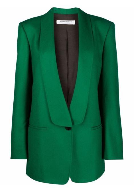 giacca con collo sciallato PHILOSOPHY di LORENZO SERAFINI | Giacca | A05085735393