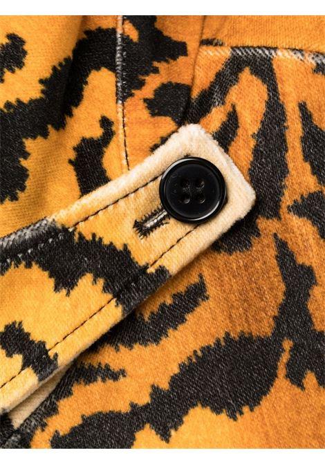 cappotto in velluto stampa animalier PHILOSOPHY di LORENZO SERAFINI | Cappotto | A060157281080