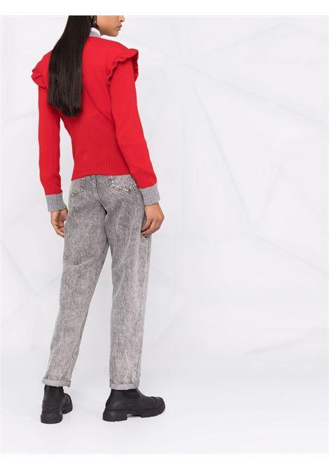 maglione girocollo con bordi in contrasto PHILOSOPHY di LORENZO SERAFINI | Maglia | A090157021112